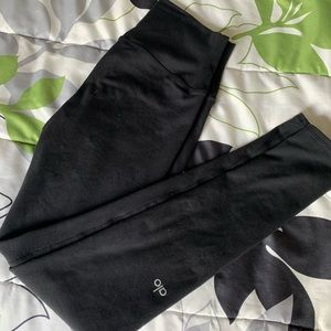 Alo full length leggings size Small